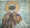 A depiction of St. Moses the Ethiopian